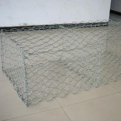 hot dipped galvanized gabion wire mesh box