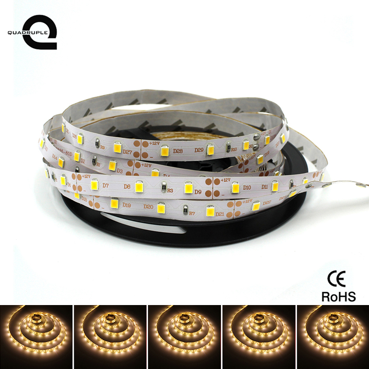 Hot sale strip light SMD 2835 IP65 12v flexible led strip warm white