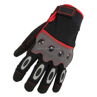 hand guard hot sale safety gloves for construction with dots