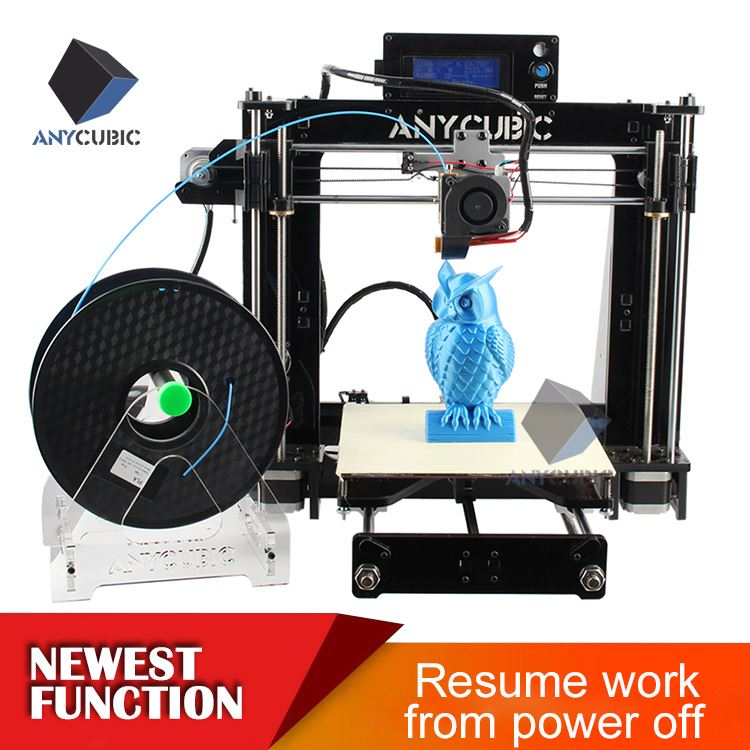 2016 Anycubic Prusa i3 Pro 3d metal printer for sale open source 3d printing software