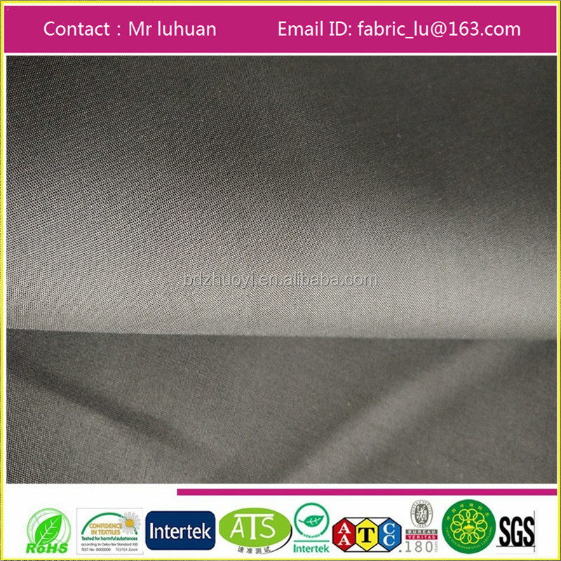 TC 80/20 45x45 110x76 reactive dyeing/continuous dyeing/poplin plain pocketing fabric