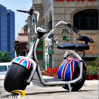 Fashionable 1000W speedometer electric motorcycle