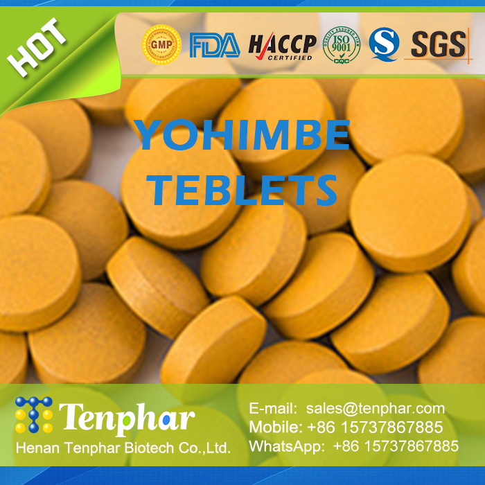 Benefits for Man Health Yohimbe Extract Bark Pellets Chewable Tablet