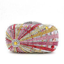 OEM different kinds of hand bags for party lady clutch evening bag