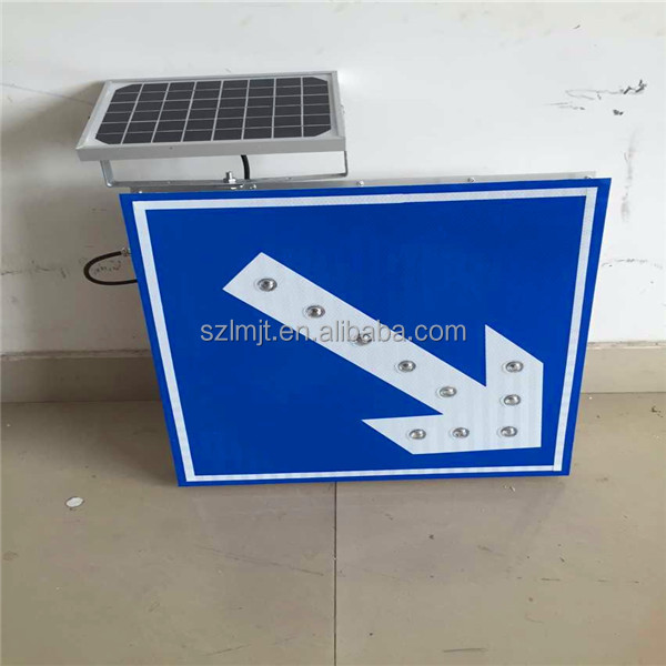 Road Safety Signs LED Arrow Board Directional Arrow Light for traffic signals