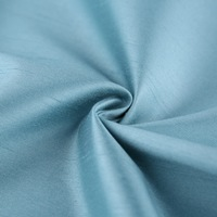 Blackout curtain lining 3 pass coated faxu silk fabric