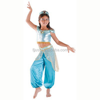 Funny children sexy belly dance costume for kids