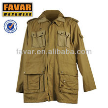 mens cotton canvas fishing jacket hunting jacket winter garments