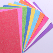 High Density EVA Foam Tablet Molded Product Adhesive Glitter EVA Foam Sole Sheet