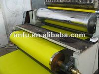 AFSJ-1300mm coloful PP gift ribbon strap extrusion line,ISO 9001:2000