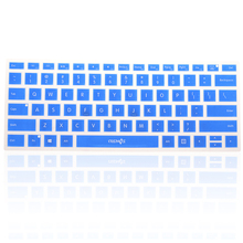 Silicone computer laptop keyboard skin dust cover for microsoft surface