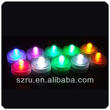 hot sale led floral candle light color changing