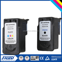 Printer Consumables Compatible Ink Cartridges for Canon Cl511 Compatible for Canon Pixma IP2700 MP240 MP280 with Original Ink