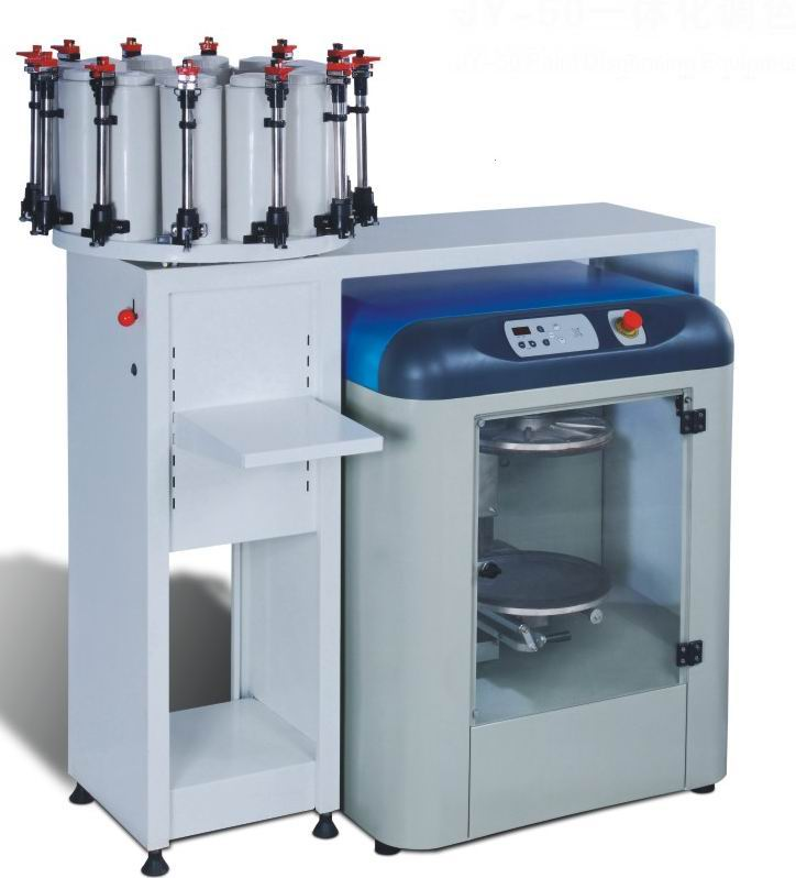 Paint dispenser and mixer combined tinting machine jy 50a for Paint tinting machine