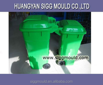 Taizhou factory oem outdoor use dustbin injection mould