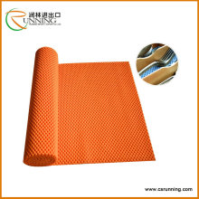 Anti slip mat grip shelf liner,pvc chain mat,anti slip table pad