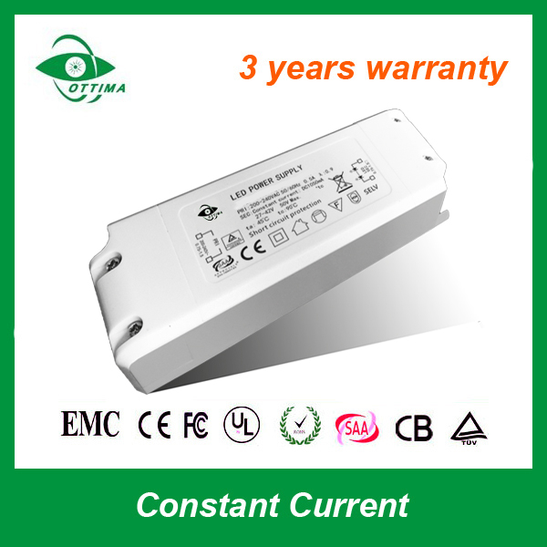 Manufacturer CE RoHS single output constant current AC DC switching mode power supply 250A 48W 80v