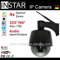 INSTAR IN-4010 Wifi Dome Camera with integrated Microphone & IR Cut Filter