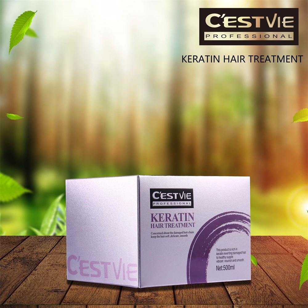 CESTVIE Keratin Professional Permanent Hair Straightening Product