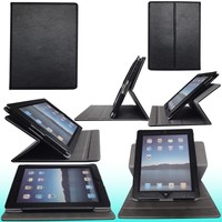 New Product Funky 360 Degree Rotation Universal Tablet Case For iPad