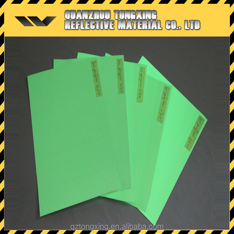 Wholsale High Quality Fluorescent Product Glow In Dark Paper