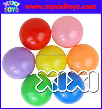 Colorful plastic fun PE ball for swiming pool