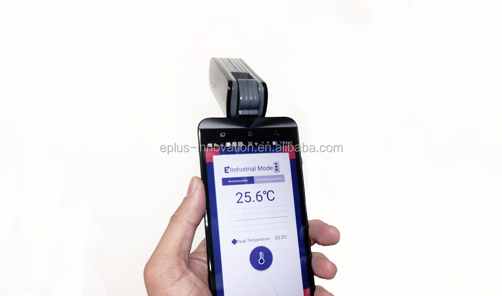 9:1 IR Measuring Head with Cirsular laser for smart phones