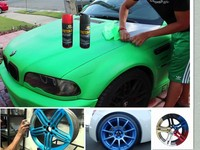 Removable rubber paint for car spray,car liquid rubber coating colours/free samples