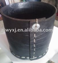 Recycled rubber bucket,artcrafts,Tire basket,handmade products