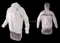 Sobike White useful Cycling Raincoat Wholesale, Men's Rainwear.