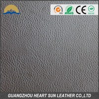 Soft hand feeling high quality artificial leather for car seat cover