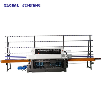 JFE10325 10 motor glass straight line edging grinding and polishing machine good effect