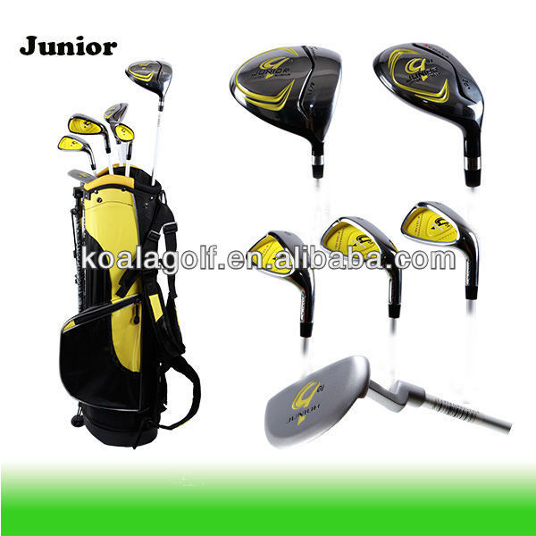 Junior Golf Club Set/Golf CLUB Set for kids/Over Size Accept