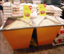 APEX custom make supermarket foodstuff rice bucket