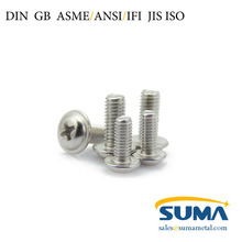 DIN GB ASME ISO Stainless Steel Machine Screw