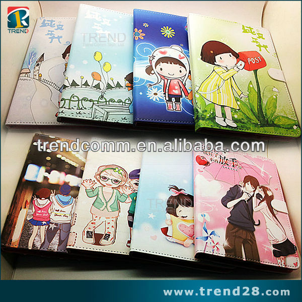 2013 hot selling cute design saddleback leather for ipad2 case