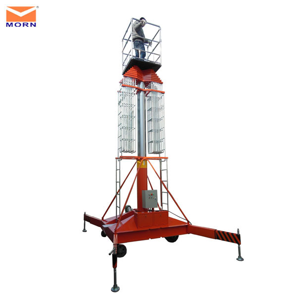 electric manlift/telescopic man lift/window cleanling lift
