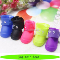 Wholesale dog rain boot, waterproof dog boots, hot sale rain boots for dogs