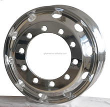 aluminum and magnesinum alloy truck wheel fit for big truck wheel
