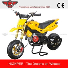 Most Popular High-quality Mini Gas Motorcycle for Children with 2 Stroke(PB007)