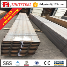 ss400 ss41 standard length metal structure steel I-beams sizes