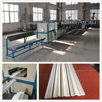 High capacity Foaming XPS crown moulding corner extrusion machine