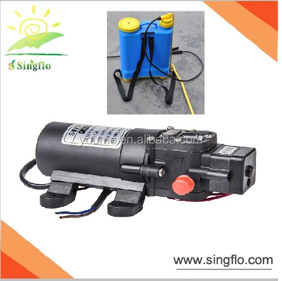 Singflo 12V 4.3L/ Mini electric water diaphragm pump/ knapsack sprayer