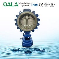 Cast Iron Double Eccentrice Butterfly Valve With Gear Box