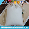 2015 Canvas Organic Cotton Calico Drawstring Bag For Jewelry