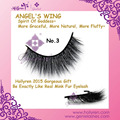 Hollyren Angel's Wing Super Soft Light Natural Fluffy Silk 3D Eye Lashes