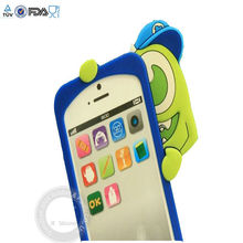 Monster University design cute silicone case for iphone4