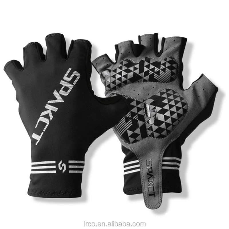 Spakct hotsale nylon spandex cycling glove half finger rode bike glove