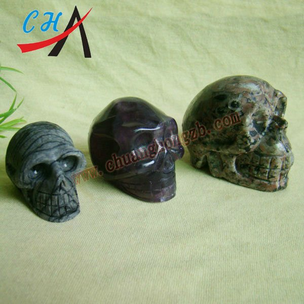 Wholesale Halloween's gift Stone Animal Skull Carvings