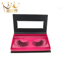 2018 New Own Brand Silk Lashes , Private Label Wholesale 3d Faux mink Eyelashes, Handmade Cruty free 3d Faux mink lashes